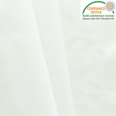 Tissu PUL imperméable blanc au mètre labelisé Oeko-Tex