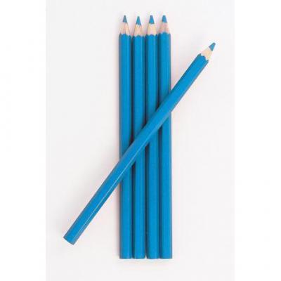 Crayon craie couture bleu