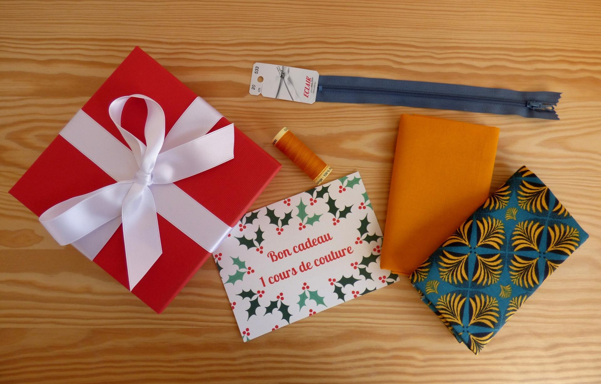 Coffret bon cadeau 1 cours et matériel
