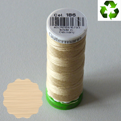 Fil Gütermann recyclé tout textile 100m _ col 186