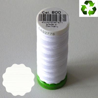 Fil Gütermann recyclé tout textile 100m _ col 800 (blanc)